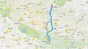 Himalayan Mountains Map Brahmatal Trek Trek The Indian Himalayas Indiahikes