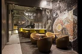 ramen bar suzuki u2013 extraordinary restaurant design with mosaic walls