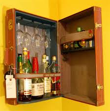 furniture unique floating liquor cabinet ikea made of wood for