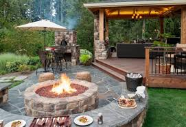 Small Firepit Backyard Pit Small Backyard Backyards