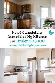 is renovating a kitchen worth it budget kitchen remodel how i kept it 10 000 budget