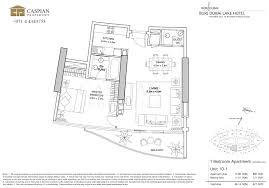 the address residence lake hotel floor plans