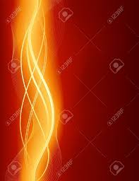 glowing abstract wave background in shades of red gold use of