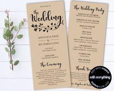 rustic wedding program templates heart wedding program template wedding fans wedding fan