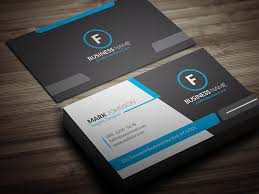 Template For Business Cards Free Download Cool Blue Corporate Business Card Template Free Download Cp00018