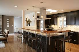 shaped kitchen design with island home design ideas home design