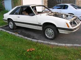 83 mustang gt for sale ford mustang 1983 glx 5 0 t top rolling chassis york