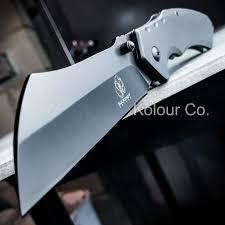 Tactical Kitchen Knives Tactical Spring Assisted Open Pocket Knife Cleaver Razor Folding