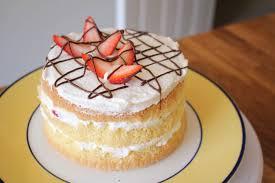 3 ingredient sponge cake recipe