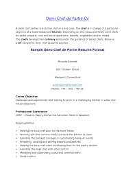 Sample Resume For Kitchen Staff Chef Resume Cover Letter Examples Export Clerk Sample Resume