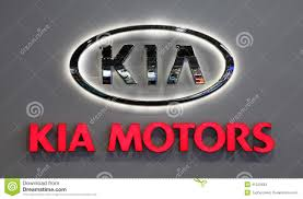 kia logo kia motors company logo editorial stock photo image 41225693