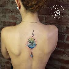 tayfun bezgin creates beautiful stylized tattoos with watercolor