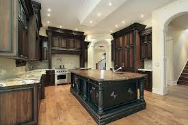 How To Stain Kitchen Cabinets Darker Best Cabinet Decoration - Black stained kitchen cabinets