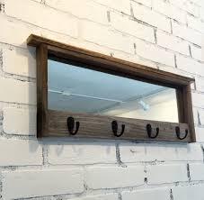 marvelous ideas wall mirror with hooks stylish inspiration