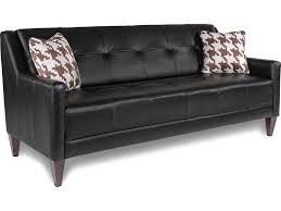 Sofa Mid Century Modern by La Z Boy Verve Mid Century Modern Sofa With Tufting Great