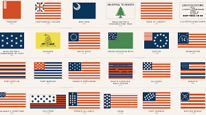 Backwards Us Flag 48 American Flags That Came Before Today U0027s Stars And Stripes