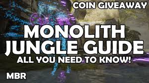 monolith gameplay jungle guide all you need to know paragon