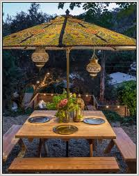 Lighted Patio Umbrella Lighted Patio Umbrella Home Design Ideas