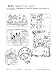 printable thanksgiving activities for happy thanksgiving