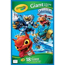 amazon com crayola skylanders giant coloring pages toys u0026 games