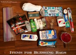 blessing bags how to create free checklist