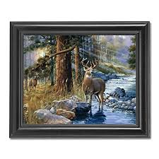 home interiors deer picture home interiors wall pictures amazon com