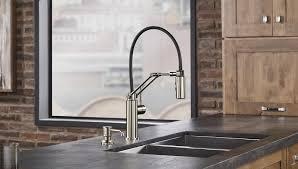 brizo kitchen faucets reviews kitchen kohler simplice kitchen faucet american standard alcove