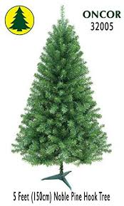 noble christmas tree 5ft eco friendly oncor noble pine christmas tree home