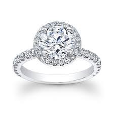 circle engagement ring with halo platinum engagement ring with halo top