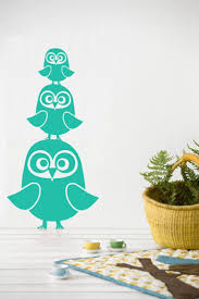 121 best home off the wallpaper images on pinterest fabric three owls turquoise modern wall stickerskids