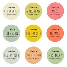 spice labels spice labels kitchens and adhesive
