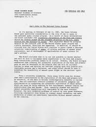space science board 31 march 1961 letter report to nasa u201cman u0027s