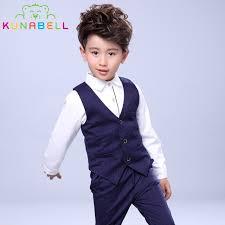 boys light blue dress pants baby boys birthday dress formal suit clothes set shirt waistcoat