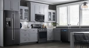 kitchen remodel white cabinets black appliances best cabinet