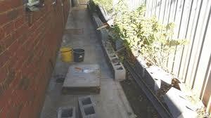 how to besser or concrete cinder block garden edge walls hometalk