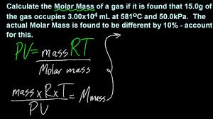 1 3 solve problems using the ideal gas equation pv u003d nrt sl ib