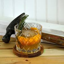 diy inspired rusty nail drink recipe crate and barrel blog