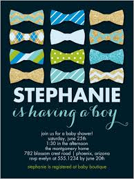 bow tie baby shower invitations bow tie sparkle 4x5 greeting card baby shower invitations