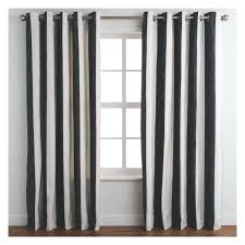 Black White Stripe Curtain Blue And White Striped Curtains Vrboska Hotel