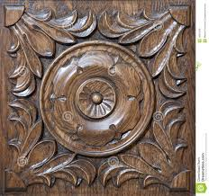 carved pattern on wood royalty free stock images image 16991039