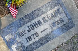 Johns Flags Riverside Landmarks Apostolic Faith Mission Founder Buried Locally The