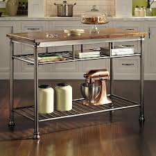 stainless steel portable kitchen island kitchen amusing lowes kitchen cart kitchen island with stools