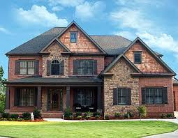 two story craftsman house plans sweet inspiration 1 brick craftsman two story house plans plan
