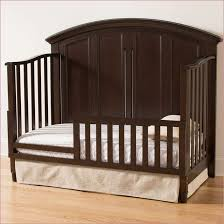 Convertible Crib Toddler Bed Rail Contvertible Cribs Espresso Mission Shaker Sorelle Toddler Bed