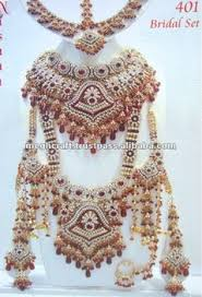 indian bridal necklace sets images Wholesale diamond royal necklace set bridal jewel indian bridal jpg