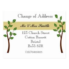 change of address announcement template 28 images business