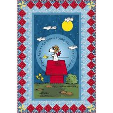 Snoopy Rug Snoopy The Flying Ace Quilt Kit