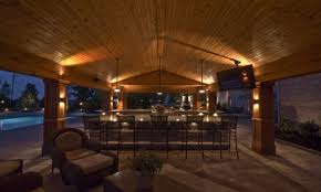 outdoor kitchen lighting outdoor kitchen lighting ideas backyard