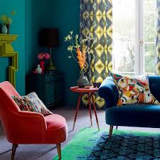 turquoise stone wallpaper living room colour schemes