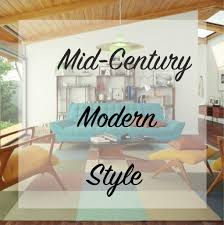 mid century modern style the craftsman blog